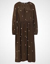 Stine Goya APRIL BEES Fotsid kjole brown
