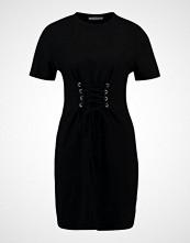 Glamorous Petite SHORT SLEEVE CORSET Jerseykjole black