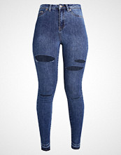 New Look LAVENDER RIPPED DISCO Jeans Skinny Fit rinse