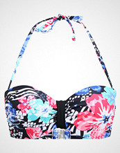 LASCANA WIRE BANDEAU Bikinitop black/lobster