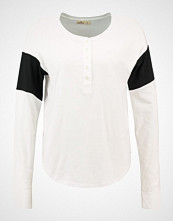 Hollister Co. STRIPE HENLEY  Topper langermet white