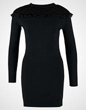 Navy London ESME Strikket kjole black