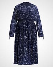 Glamorous Curve Fotsid kjole navy white star