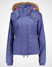 Superdry HOODED FUR SHERPA WIND ATTACKER/ WIND REIHE Lett jakke light blue /neon pink