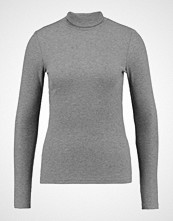 Pieces PCGANIE ROLL NECK Topper langermet medium grey melange