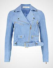Ivyrevel REBEL Imitert skinnjakke blue