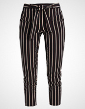 Dorothy Perkins STRIPE TEXTURED TROUSER Bukser black