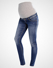 Mamalicious MLBIRDIE SLIM Jeans Skinny Fit medium blue denim