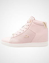Lacoste CARNABY EVO WEDGE  Høye joggesko pink/gold