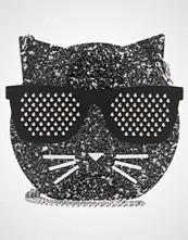 Karl Lagerfeld ROCKY CHOUPETTE MINAUDIERE Skulderveske black