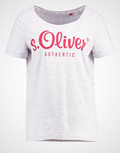 s.Oliver RED LABEL Tshirts med print mottled light grey