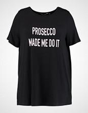 Dorothy Perkins Curve PROSECCO MOTIF  Tshirts med print black