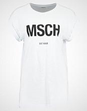 Moss Copenhagen ALVA TEE Tshirts med print white/black