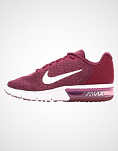 Nike Performance AIR MAX SEQUENT 2 Nøytrale løpesko bordeaux/white tea/berry white