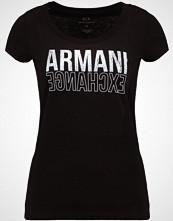 Armani Exchange Tshirts med print black