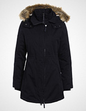 Superdry Parka super dark navy/cream borg