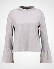 Tom Tailor Denim RUFFLE SLEEVE Topper langermet light silver grey