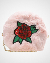 Missguided ROSE EMBROIDERED BAG Skulderveske black