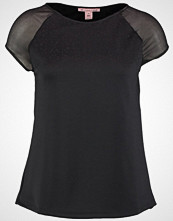 Anna Field Tshirts med print black/rose
