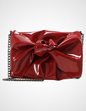 New Look OVERSIZED PATENT BOW CHAIN Skulderveske red