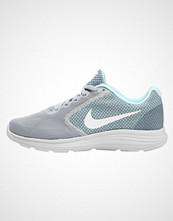 Nike Performance REVOLUTION 3 Nøytrale løpesko wolf grey/white/glacier blue/cool grey/pure platinum