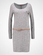 Ragwear MONTANA Jerseykjole light grey melange