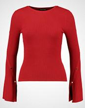 Miss Selfridge POPPER DTAIL Jumper red