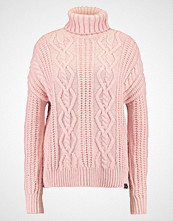 Superdry ESMAY CABLE  Jumper blush marl