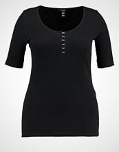 New Look Curves HOOK EYE RIB  Tshirts med print black