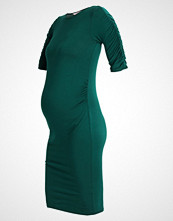 DP Maternity BODYCON GATHERED SLEEVE Hverdagskjole bottle green