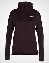 Nike Performance HOODIE Treningsjakke port wine/heather/silver