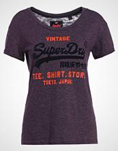 Superdry SHOP NEW SLIM FIT Tshirts med print blackberry