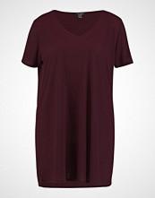New Look Curves BOYFRIEND  Tshirts burgundy