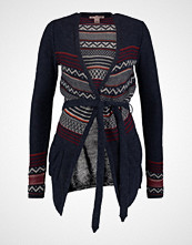 Anna Field MIXED STRIPE  Cardigan peacoat/red