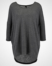 Vero Moda VMHONEY LONG  Jumper dark grey melange
