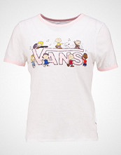 Vans PEANUTS DANCE PARTY RINGER  Tshirts med print white