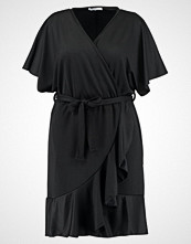 Glamorous Curve WRAP Jerseykjole black