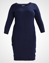 Anna Field Curvy Strikket kjole dark blue