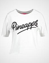 Miss Selfridge PINEAPPLE CROP Tshirts med print white