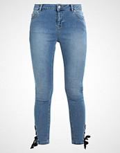 Dorothy Perkins EYELET HEM DARCY Jeans Skinny Fit blue