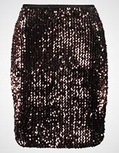 Only ONLCONFIDENCE Miniskjørt black/sequins copper
