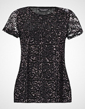 Dorothy Perkins BLACK FRIDAY SEQUIN LACE TEE Tshirts med print black