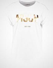 Moss Copenhagen ALVA TEE Tshirts med print white/gold