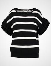 NAF NAF MRAYE Tshirts med print noir/blanc