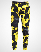 G-Star GStar PHARRELL WILLIAMS ELWOOD X25 3D BOYFRIEND Bukser yellow/black ao