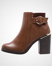 New Look BOXIE Ankelboots med høye hæler light brown