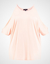 New Look Curves PRETTY COLD SHOULDER Tshirts med print shell pink