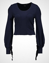 Lost Ink JULIETTE LONG SLEEVE  Topper langermet blue