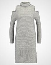 Noisy May NMVERY ROLL NECK  Strikket kjole light grey melange