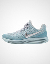 Nike Performance LUNAREPIC LOW FLYKNIT 2 Nøytrale løpesko glacier blue/metallic silver/polarized blue/wolf grey/blue